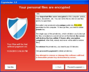 How to fight ransomware - CryptoLocker